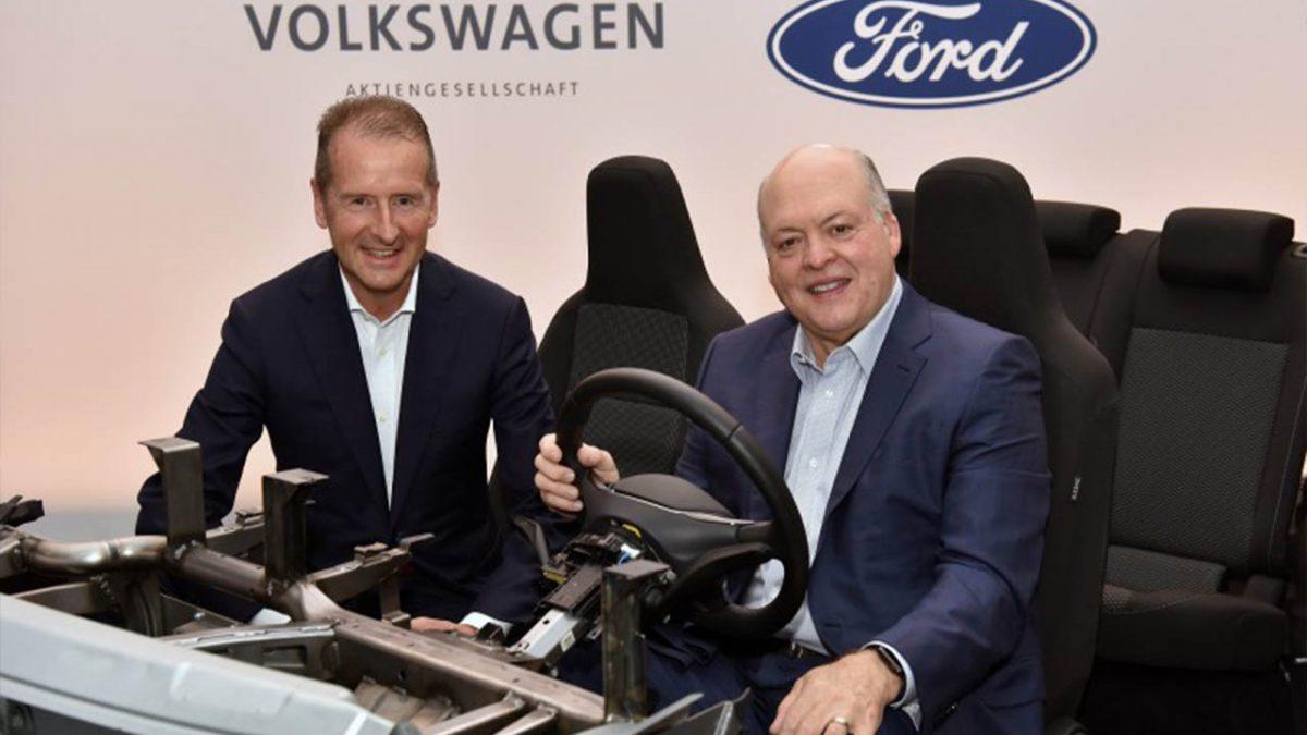 Firman Ford y Volkswagen acuerdo para desarrollar vehículos eléctricos