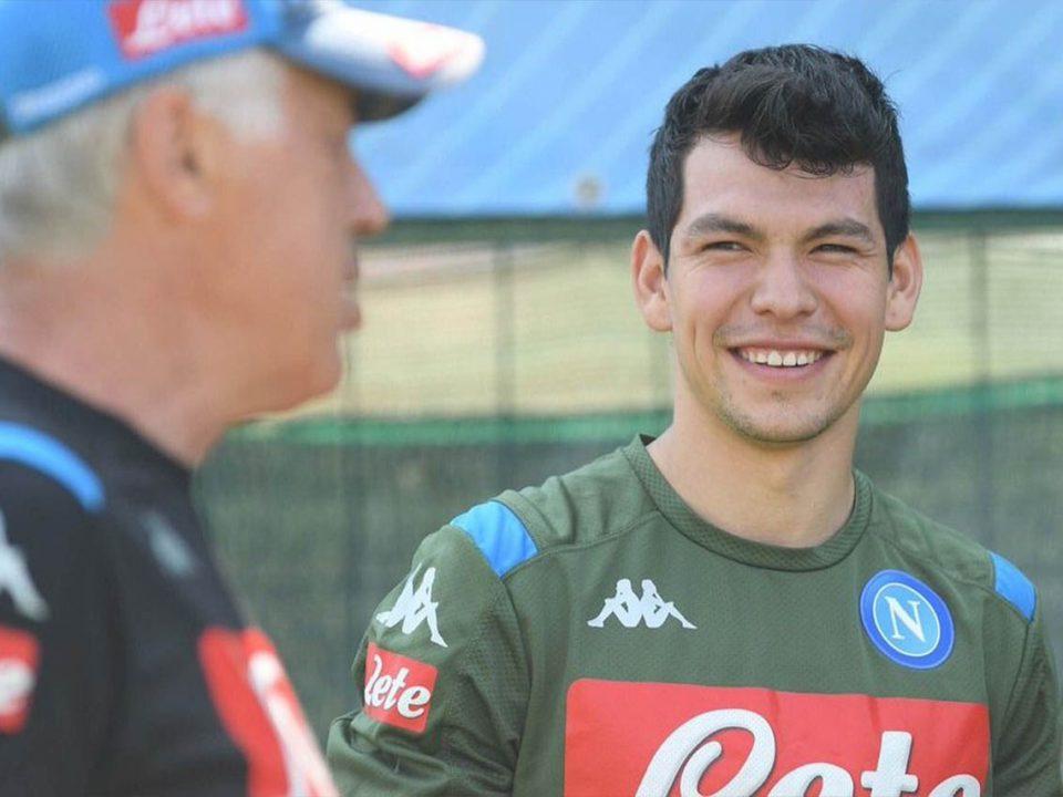 Confirma Nápoles llegada de Hirving Lozano