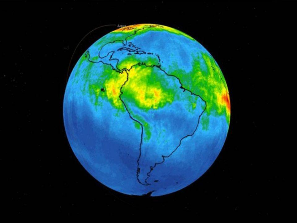 Alerta la NASA sobre monóxido de carbono en la Amazonia