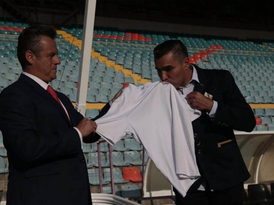"""Césan a """"Chiquimarco"""" como DT del Salamanca a tres días de su llegada"""